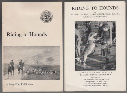 Image for Riding To Hounds