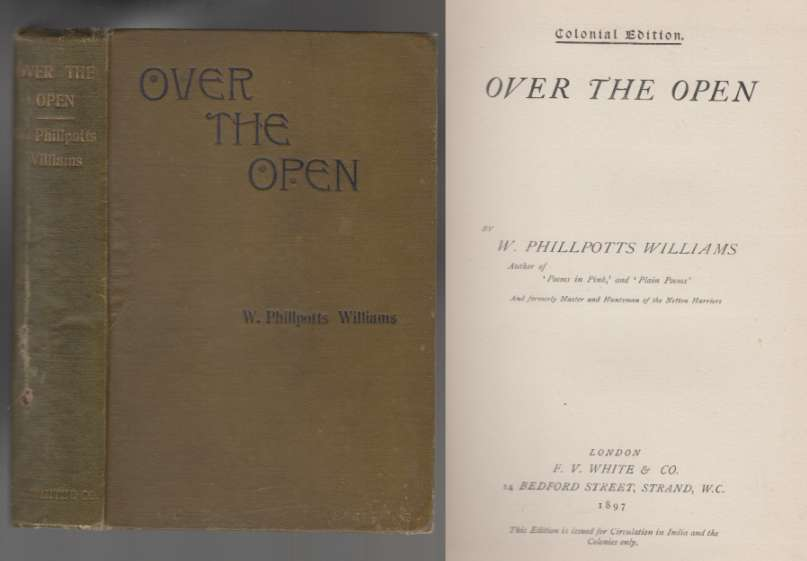 Image for Over The Open  Colonial Edition