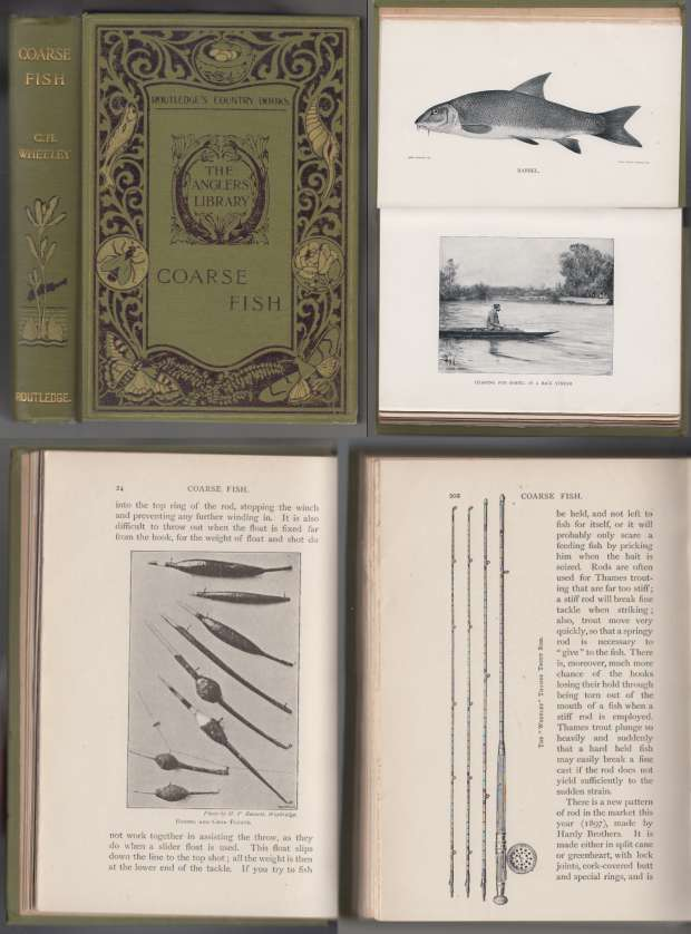 Image for Coarse Fish With Notes on Taxidermy, Fishing in the Lower Thames, Etc. Vol 1 of The  Anglers' Library