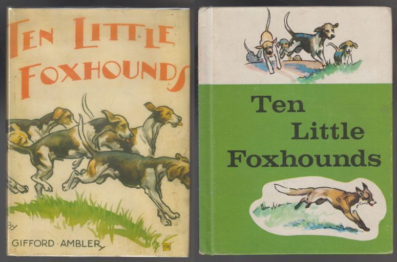 Image for Ten Little Foxhounds