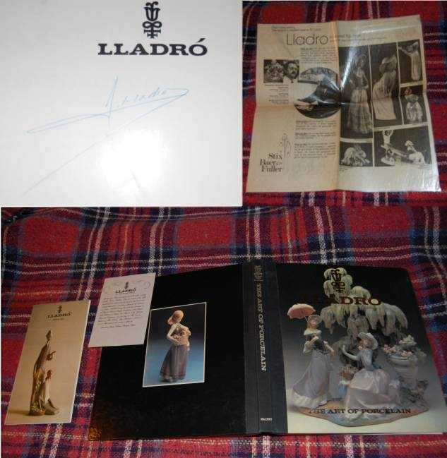 Image for Lladro The Art of Porcelain. How Spanish Porcelain Became Famous  SIGNED