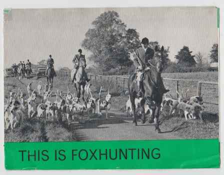 Image for This Is Foxhunting
