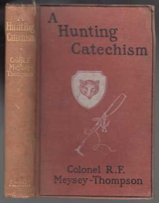 Image for A Hunting Catechism