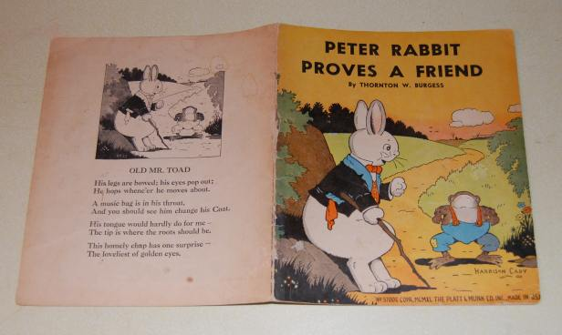 Image for Peter Rabbit Proves A Friend  PB. No. 3700E
