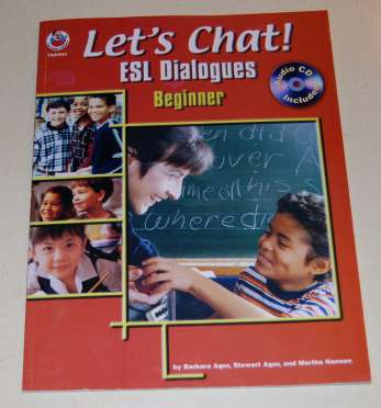 Image for Let's Chat! ESL Diamogues Beginner FS99544 with Audio CD