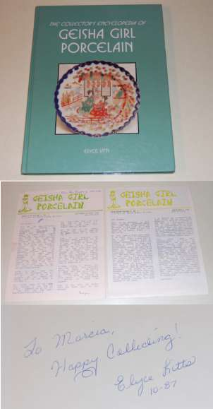 Image for The Collector's Encyclopedia of Geisha Girl Porcelain  SIGNED PLUS +