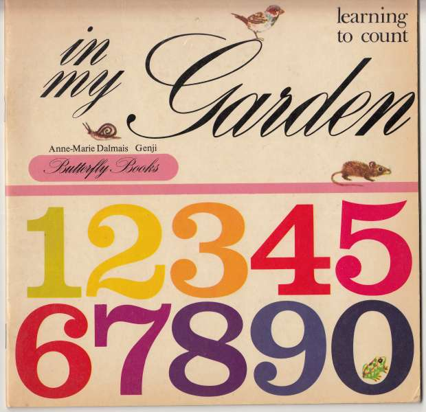Image for In My Garden Learning To Count   Rare Counting Book from France