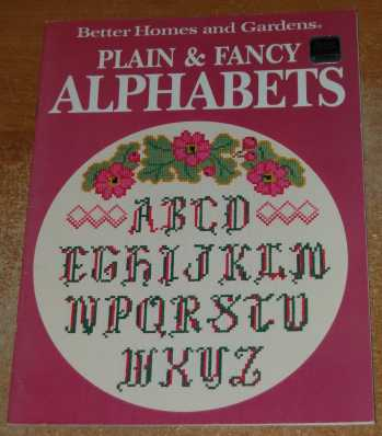 Image for Plain & Fancy Alphabets (Cross Stitch Patterns)