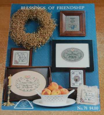 Image for Blessings of Friendship Book #78(Counted Cross Stitch Patterns)