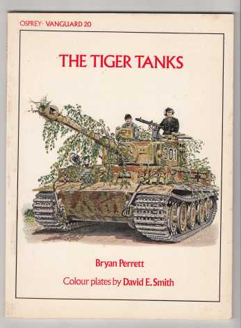 Image for The Tiger Tanks Osprey Vanguard #20
