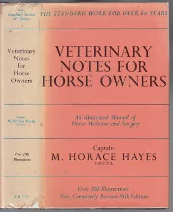 Image for Veterinary Notes for Horse Owners A Manual of Horse Medicine and Surgery