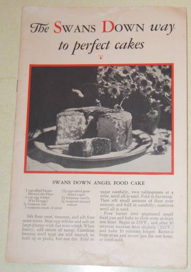 Image for The Swans Down Way to Perfect Cakes