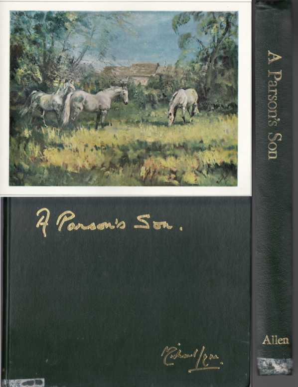 Image for A Parson's Son. Sporting Artist  SIGNED