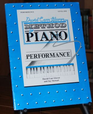 Image for David Carr Glover Method for Piano Performance  Level One