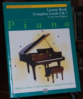 Image for Alfred's Basic Piano Library Lesson Book for the Later Beginner  Complete Levels 2 & 3.