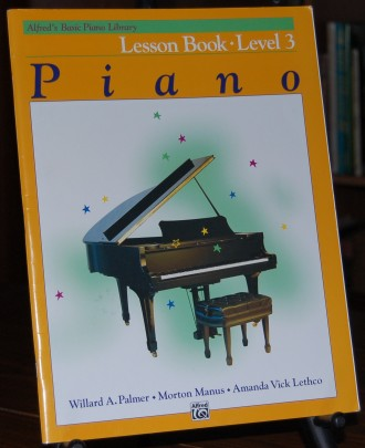Image for Alfred's Basic Piano Library Lesson Book - Level 3