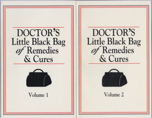 Image for Doctor's Little Black Bag of Remedies & Cures  Volumes 1 and 2