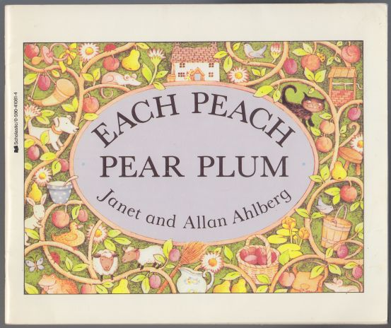 "Image for Each Peach Pear Plum  An ""I Spy"" Story"