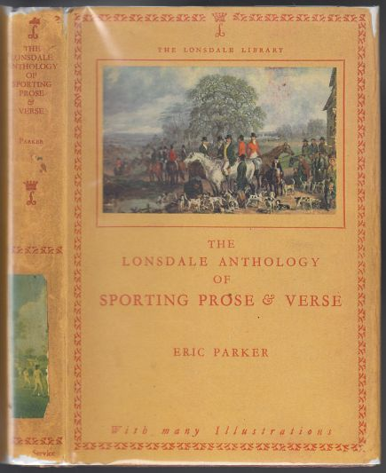 Image for The Lonsdale Anthology of Sporting Prose & Verse. Volume XII (Twelve)