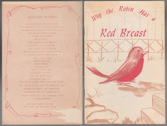 Image for Why the Robin Has a Red Breast