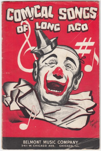 Image for Comical Songs of Long Ago  14 Comical Songs by Various Authors