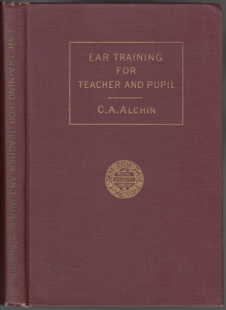 Image for Ear Training for the Teacher and Pupil