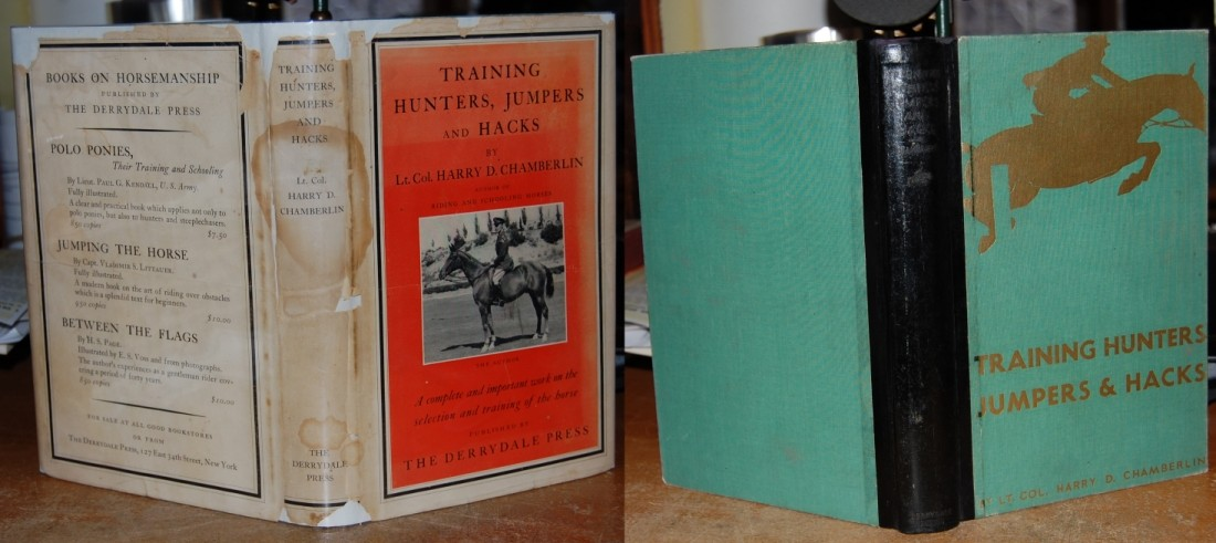Image for Training Hunters, Jumpers and Hacks. Limited, Numbered, Illust by Paul Brown