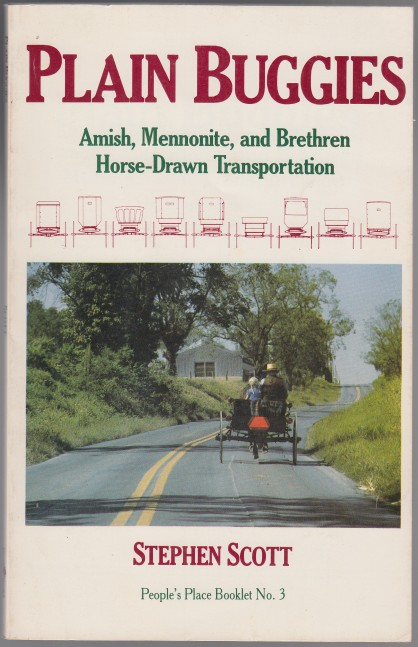 Image for Plain Buggies  Amish, Mennonite, and Bretheren Horse-Drawn Transportation