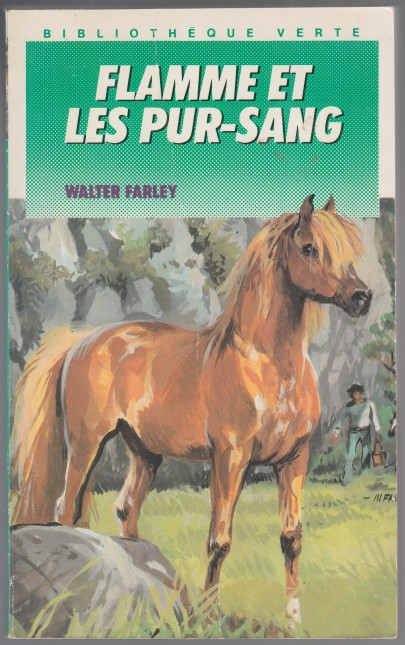 Image for Flamme Et Les Pur-Sang French Text = Flame and the Thoroughbred