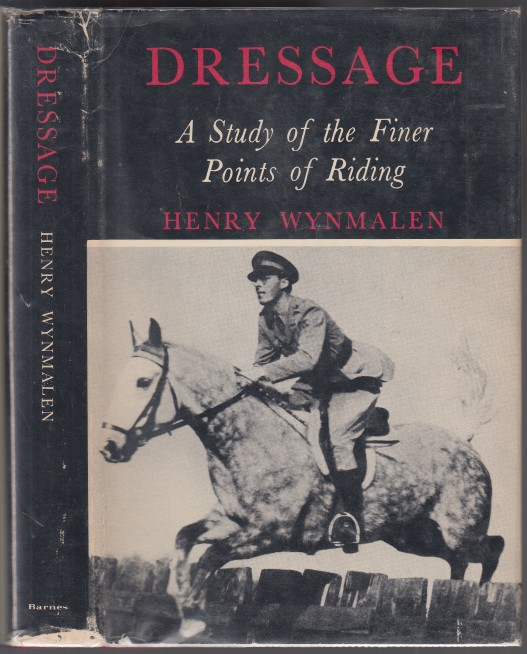 Image for Dressage  A Study of the Finer Points of Riding