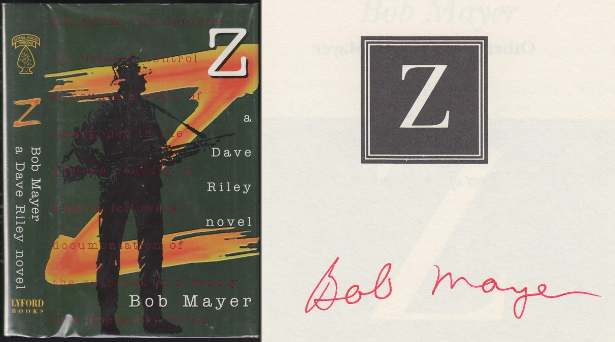 Image for Z. A Dave Riley Novel  AUTHOR SIGNED