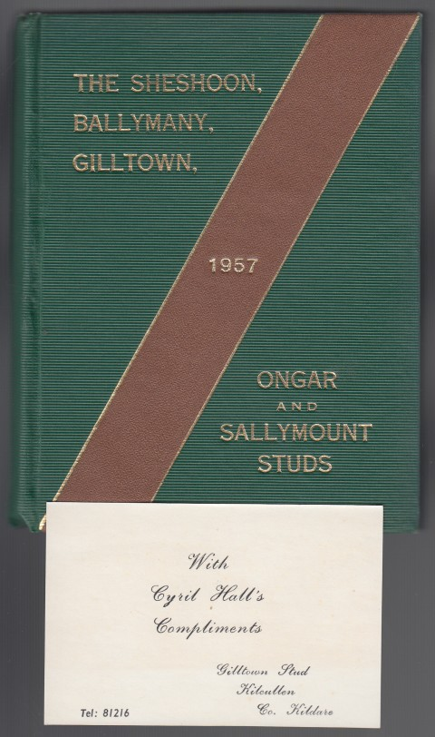 Image for The Sheshoon, Ballymanny, Gilltown, Ongar and Sallymount Studs 1957