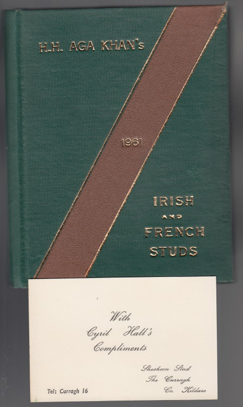 Image for H. H. Aga Khan's Irish and French Studs 1961