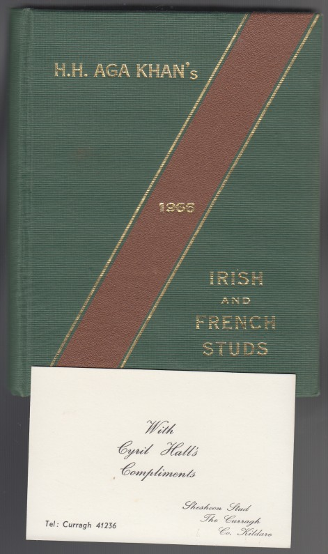 Image for H. H. Aga Khan's Irish and French Studs  1966