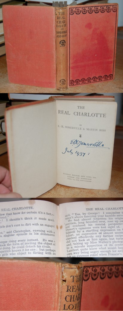 Image for The Real Charlotte  Signed by Somerville