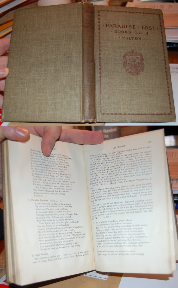 Image for Milton's Paradise Lost Books I and II