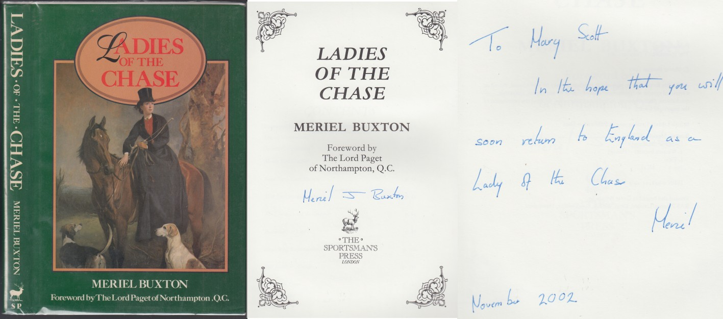 Image for Ladies of the Chase  Signed & Inscribed by Buxton