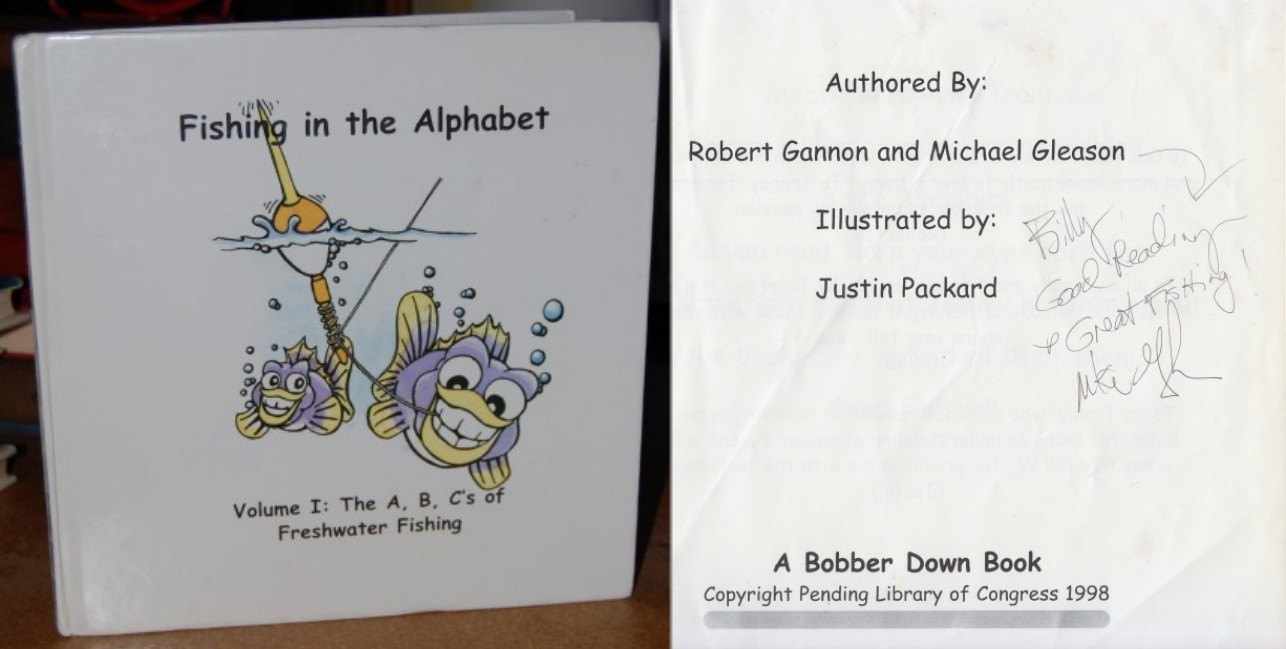 Image for Fishing in the Alphabet  SIGNED Volume I: The A, B, C's of Freshwater Fishing