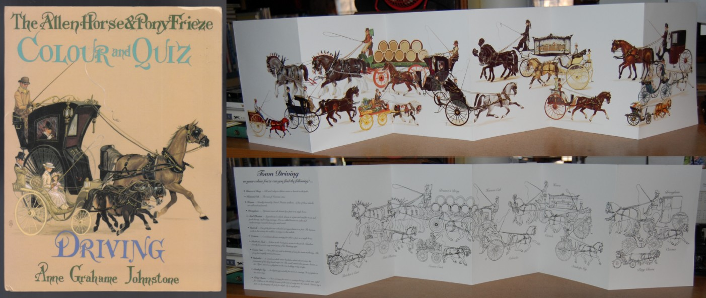 Image for The Allen Horse & Pony Frieze  A Colour Quiz on Driving