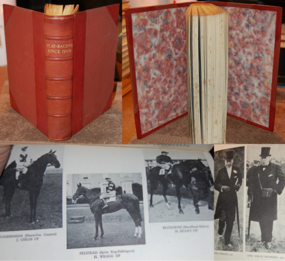 Image for Flat-Racing Since 1900  Limited Numbered Leather Bound Hardcover