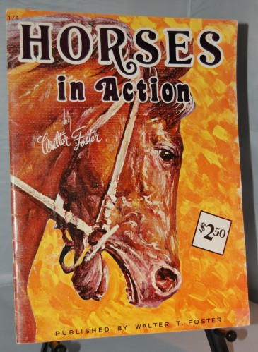 Image for Horses In Action  #174  Drawing Book