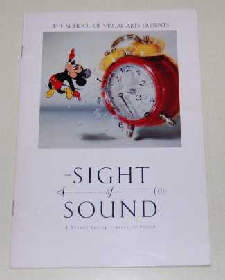 Image for The Sight of Sound. a Visual Representation of Sound