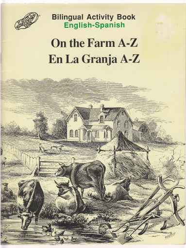 Image for Bilingual Activity Book English - Spanish On the Farm A-Z En La Granja A-Z