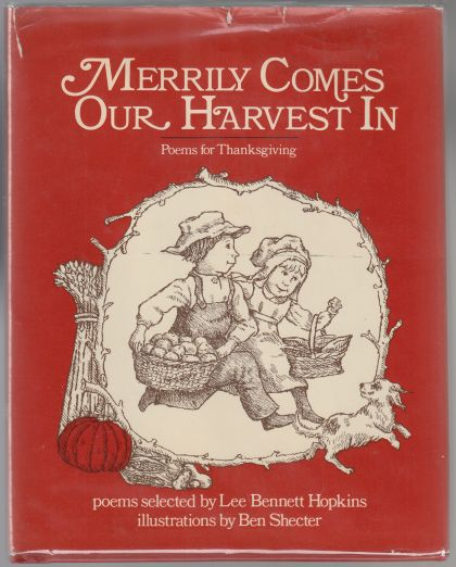 Image for Merrily Comes Our Harvest In  Poems for Thanksgiving