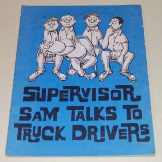 Image for Supervisor Sam Talks to Truck Drivers