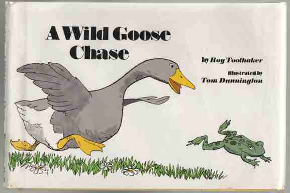 Image for A Wild Goose Chase