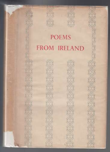 Image for Poems from Ireland  An Anthology of Poems from the Irish Times