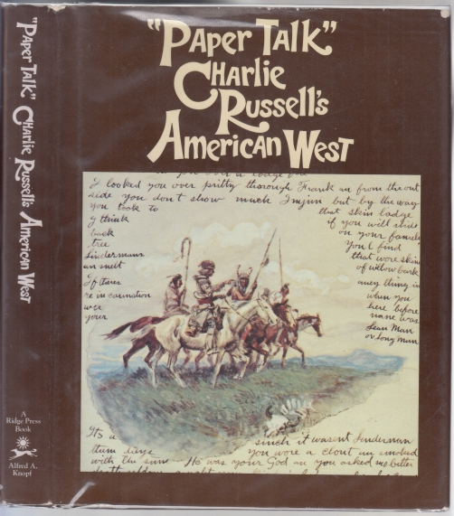 Image for Paper Talk Charlie Russell's American West