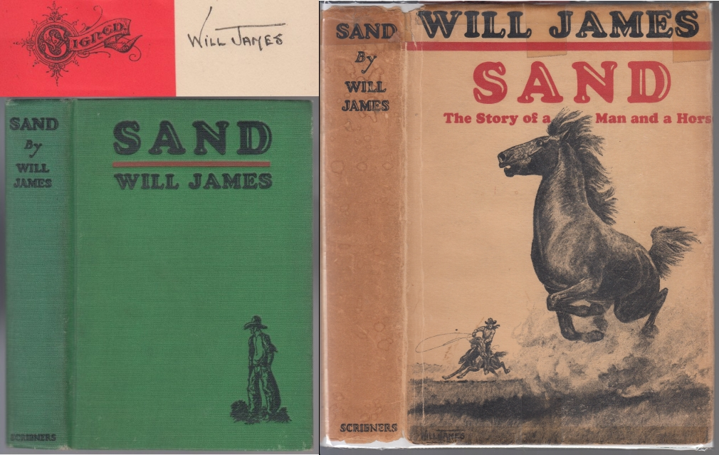 Image for Sand  The Story of a Man and a Horse   Signed by Will James
