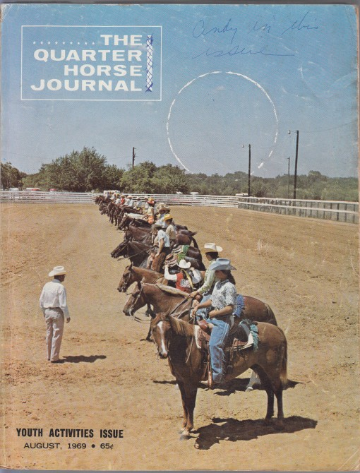 Image for The Quarter Horse Journal  Youth Activities Issue  Vol. 21, No. 11